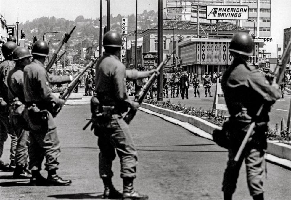 Peoples Park, Berkeley Riots 1969