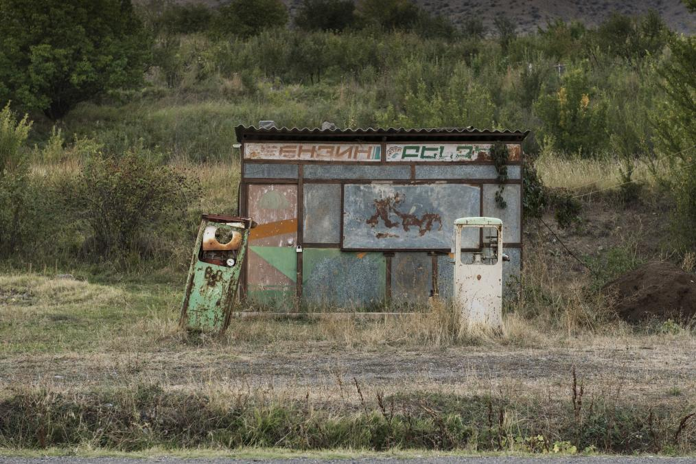 Abondaned Soviet Time Gas Stations
