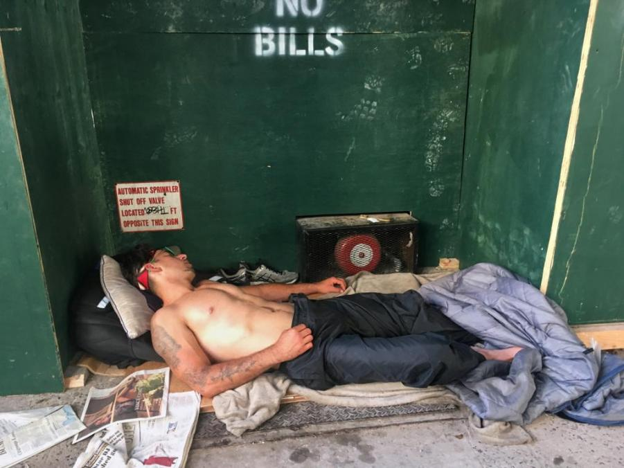 Bedding Down in New York City