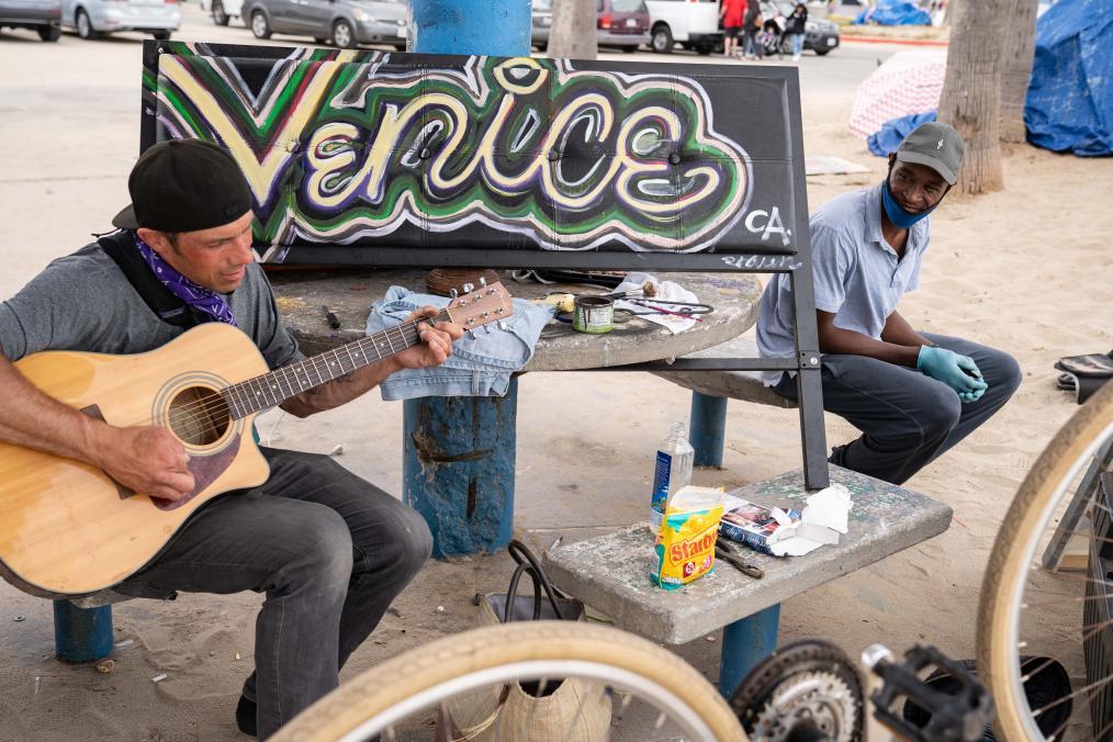 Living on Venice Beach: Homelessness, Desperation and Community